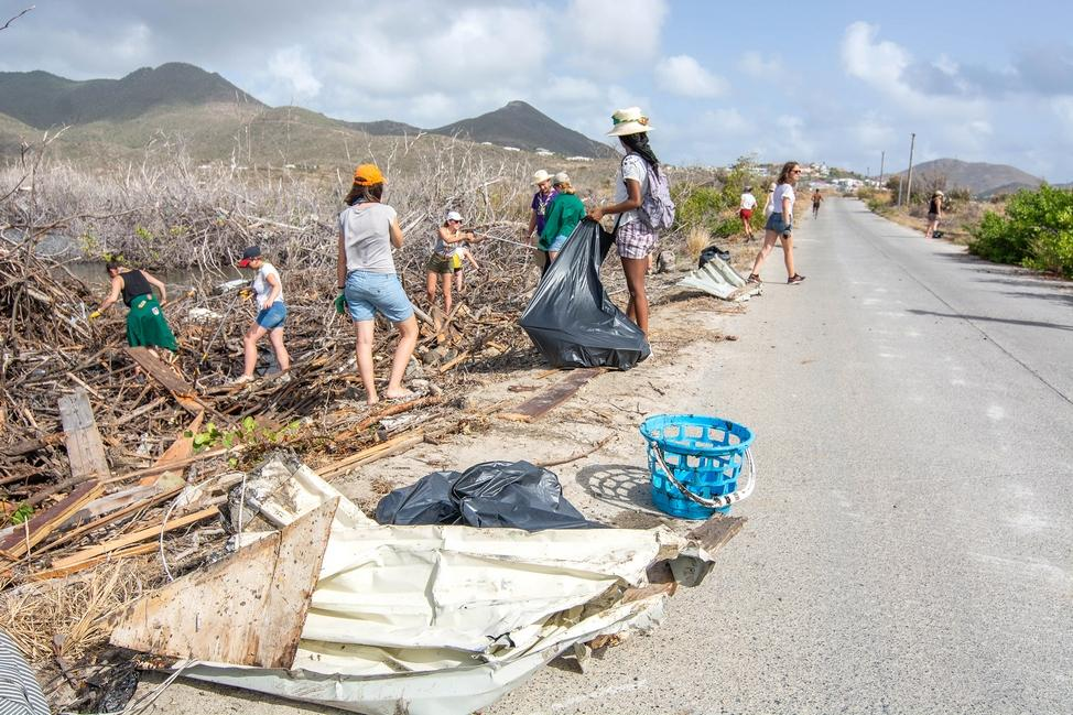 Camp solidaire à Saint Martin