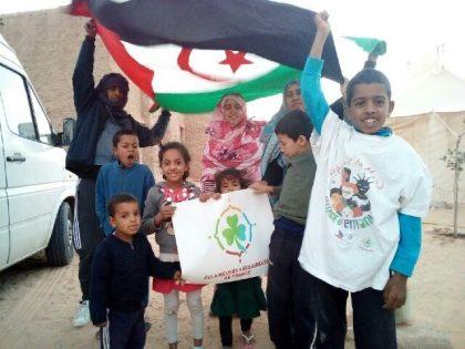 Les éclés et les copains du Sahraouis