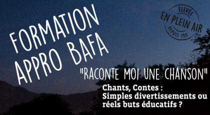 Stage appro BAFA en Bretagne