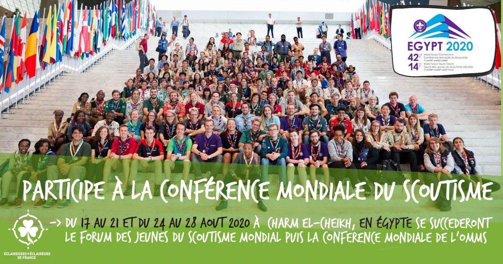 Participe à la conférence mondiale du scoutisme !