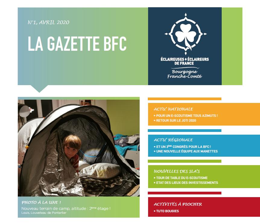 La première Gazette Bourgogne Franche-Comté a été lancée !