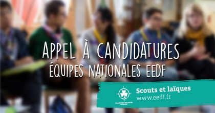 APPEL A CANDIDATURE EEDF !