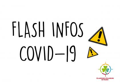 Informations COVID : Suite aux annonces gouvernementales