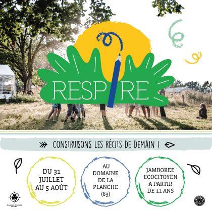 RESPIRE ! Le rassemblement Ecologique et surprenant