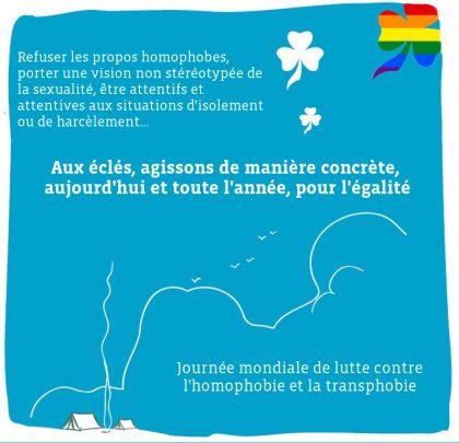 17 mai : journée de lutte contre l'homophobie et la transphobie